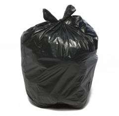 Black Square Bin Liners (Pack of 100)