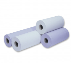 """Packs of Couch / Hygiene Roll 10"""" Wide Blue or White"""