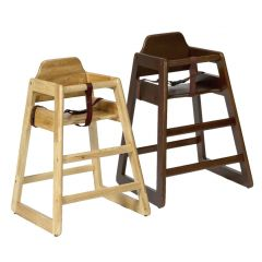 Babyminder High Chair Natural or Walnut