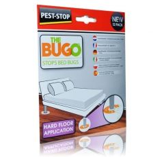 BUGO Professional Bed Bug Monitor Trap- Hard Floor (Pack of 12)