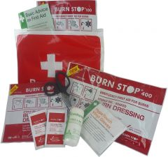 Burn Stop Burns Kit With Wallet in Small, Medium & Large Size