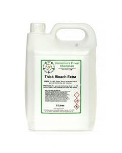 Yorkshire's Finest Chemicals- Thick Bleach (5 Litre)