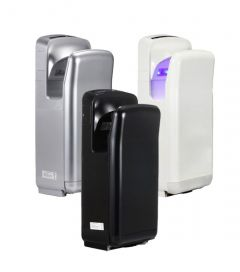 C21 Hygiene Jet Blade Hand Dryer Available in 4 finishes