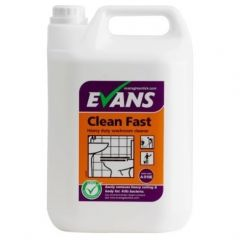 Evans Clean Fast Heavy Duty Washroom Cleaner (5 Litre)