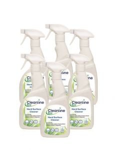 Cleanline Eco Hard Surface Cleaner RTU (6 x 750ml)