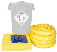 Refills for 80L Spill Kits General, Chemical, Oil, in Yellow Drum
