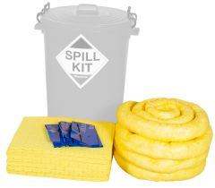 Refills for 120L Spill Kits General, Chemical, Oil