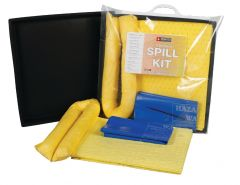 15L Spill Kits General, Chemical, Oil, EVO with Flexi-Tray