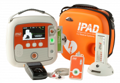 IPAD SP2 AED Defibrillator Ultimate Package with Manual Override