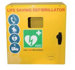 Outdoor Defibrillator Cabinet Mild Steel Unlocked 1000 Series