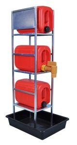 3 x 20L Drum Dispenser Stand in Bund