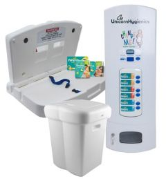 e-changer, e-bin, Nappyvend & Pampers Refills Bundle