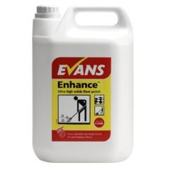 Evans Enhance Ultra High Solids Floor Polish (5 Litre)