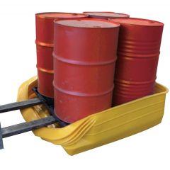 120cm x 100cm Portable 4 Drum Pallet Converter