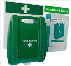 Evolution BS Compliant First Aid and Accident Reporting Point