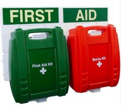 Evolution BS Compliant Food Hygiene Workplace & Burns First Aid Point