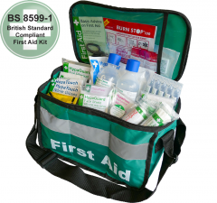 First Aider Haversack With Comprehensive Content In Durable Bag