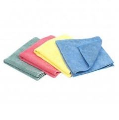 Microfibre Cloths (Pack of 10) - Various colours
