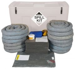 Refills for 400L Spill Kits with Plug Rug Drain Cover