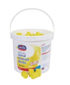 PDCB Urinal Channel Blocks Lemon 3kg Tub