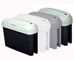 Intima 15 Litre Automatic Mini Sanitary Bin in a Choice of Finish