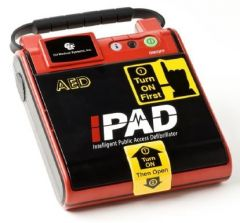 IPAD Saver Semi-Automatic AED Defibrillator with CPR Prompts