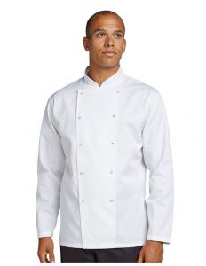 Dennys AFD Best Value Long Sleeve Chef Jacket