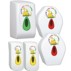 Children's Dino Complete Nursery Modular Washroom Bundle