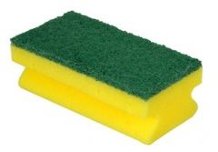 Sponge Scourer with Hand Grip