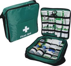 First Response Kit, Stocked Lightweight Bag With Comprehensive Content