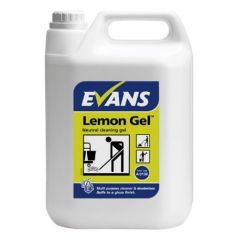 Evans Neutral Cleaning Lemon Gel (5 Litre)