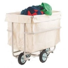Linen Truck With PVC Bags & Large Capacity Canvas Bag