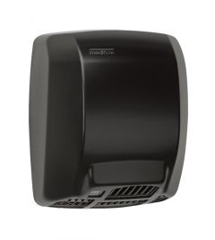 Mediclinics Mediflow® Hand Dryer Thermostatic Control M02AB in Black