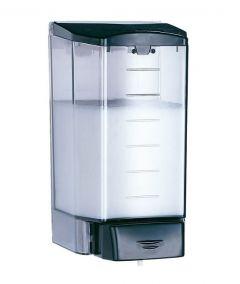 Mediclinics 1100ml Vertical Soap Dispenser in Black ABS