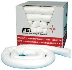 Oil & Fuel Absorbent Socks 8cm x 3 metre x 8 Boxed