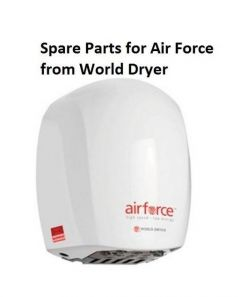 Spare Parts for Air Force World Dryer