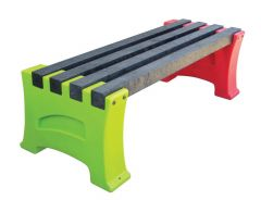 Multicoloured Benches - 2 Persons