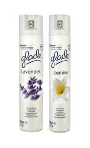 Glade Silver Professional Air Freshener 500ml Lavender Can
