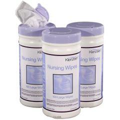 Klenzeen Patient Nursing Wet Wipes (Tub of 100)
