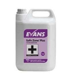 Evans Safe Zone Plus Virucidal Disinfectant 5 Litre