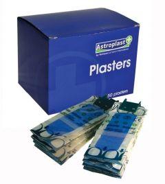 Wallace Cameron Plasters Fabric, Washable, Blue, Finger, Pilferproof