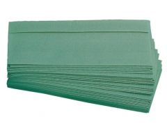 Pristine C-Fold Green Paper Hand Towels 1 Ply (Case of 10)