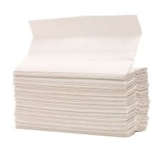 Pristine C-Fold White Paper Hand Towels 1 Ply (Case of 16)