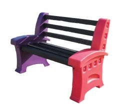 Multicoloured Seats - 2 Persons