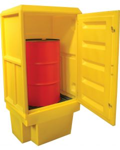Outdoor 1 Drum Covered Storage Spill Cabinet
