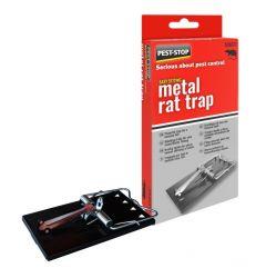 Easy Setting Metal Rat Trap - Boxed