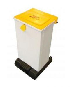 Plastic Sack Holder - Fire Retardant 65 ltr - White Body with Graphics