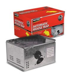 Automatic Metal Mouse Trap Holds Up To 15 Mice
