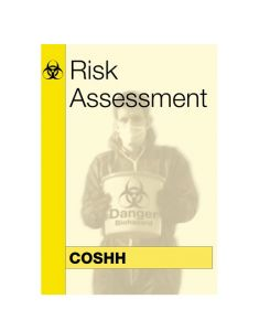 COSHH Risk Assessment Book