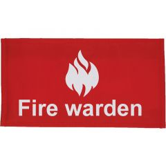 Fire Warden Arm Band Velcro Closure (Various Packs)